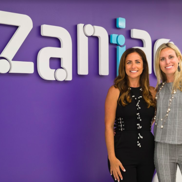 Camilla and Flavia are co-founders of Zania