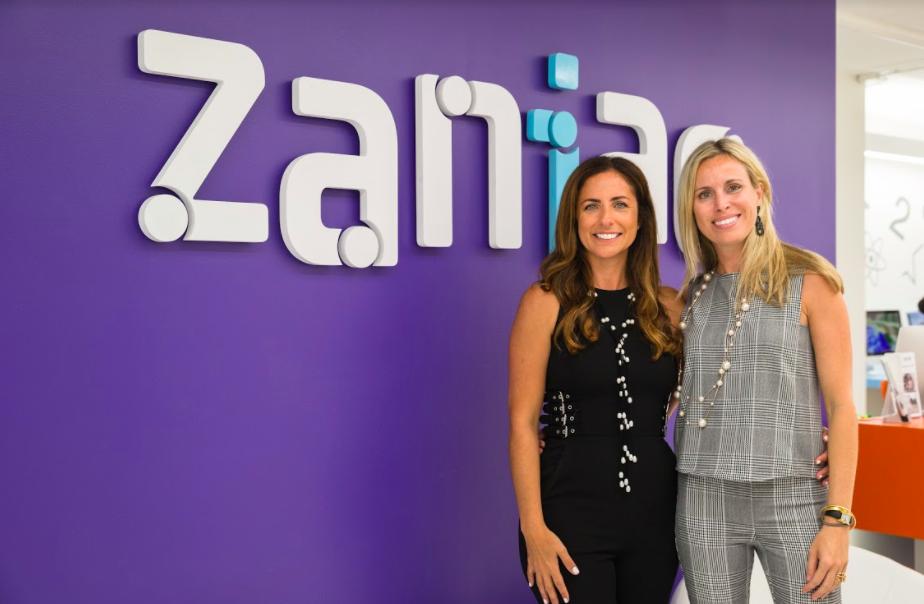 Camilla and Flavia are co-founders of Zania
