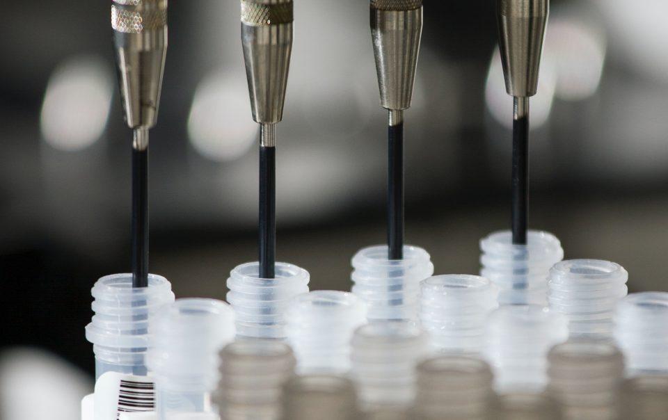 Vials for IVF treatment