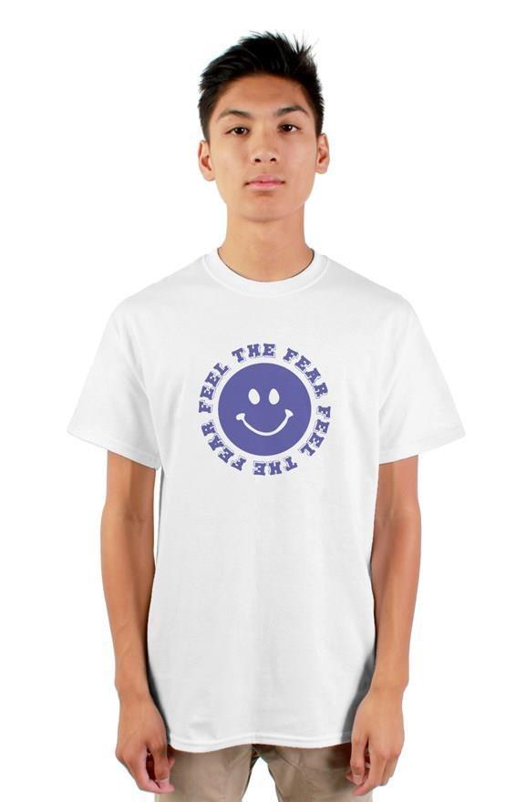 Feel the Fear Standard Men's T-shirt White