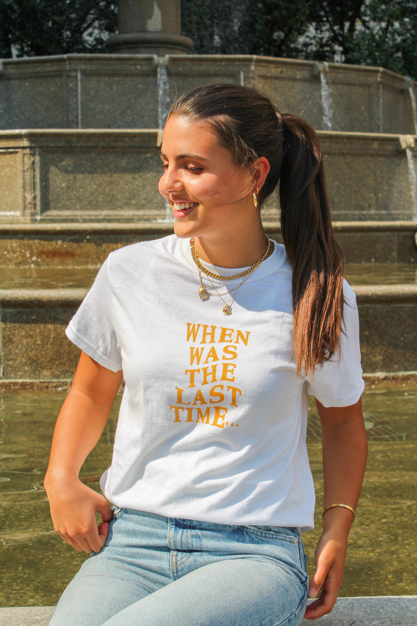 When Was the Last Time Women's Tee